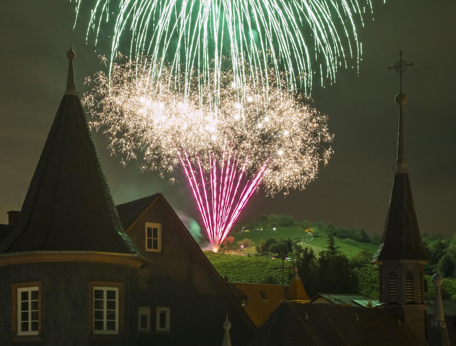Feuerwerk 2018 abgesagt